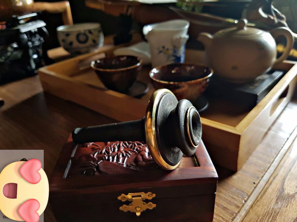 Nỏ điếu gỗ nhãn chất lượng làm hoàn toàn thủ công
