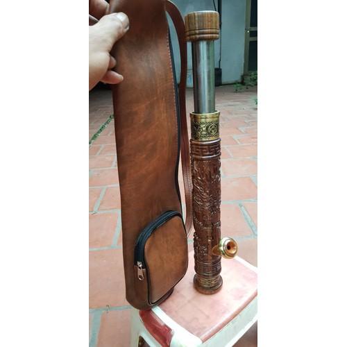Điếu cày gỗ mun biến hình